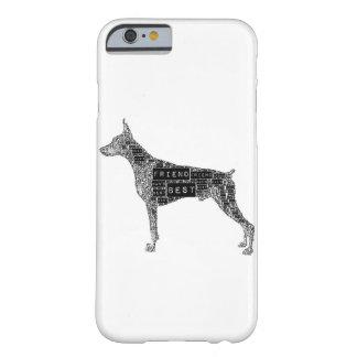 ドーベルマン犬の電話箱 BARELY THERE iPhone 6 ケース