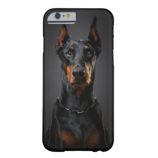 ドーベルマン犬のiPhone 6/6s、やっとそこに Barely There iPhone 6 ケース