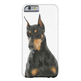 ドーベルマン犬のSmartphoneの場合 Barely There iPhone 6 ケース