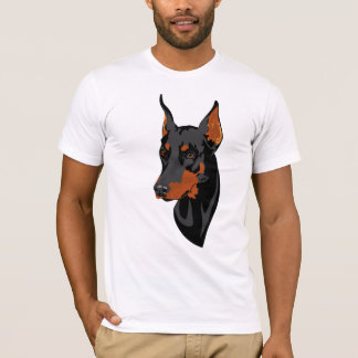 ドーベルマン犬のTシャツ Tシャツ