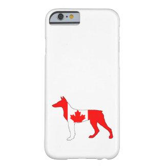 ドーベルマン犬カナダ BARELY THERE iPhone 6 ケース