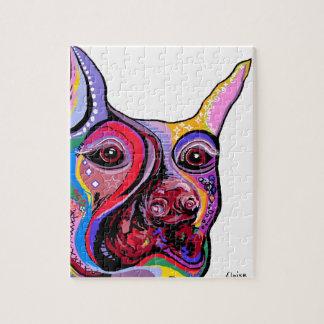 ドーベルマン犬 ジグソーパズル