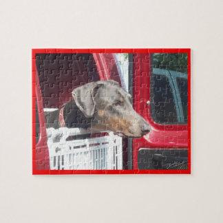 ドーベルマン犬 ジグゾーパズル
