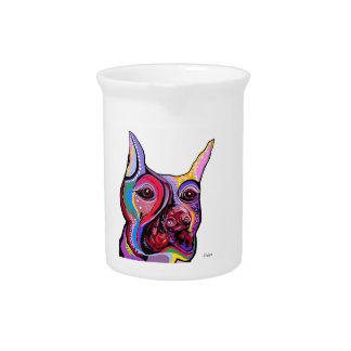 ドーベルマン犬 ピッチャー