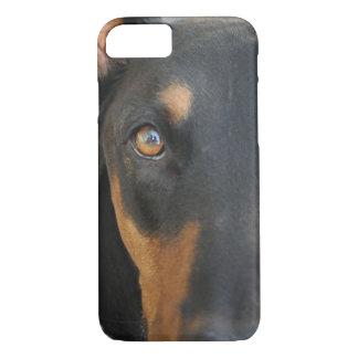ドーベルマン犬 iPhone 8/7ケース