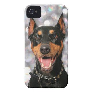 ドーベルマン犬- Megyan Case-Mate iPhone 4 ケース