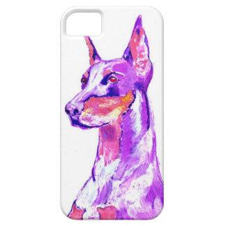 ドーベルマン(犬)のiPhoneの場合 iPhone SE/5/5s ケース