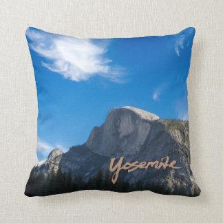 ドームのヨセミテの半分の枕 クッション