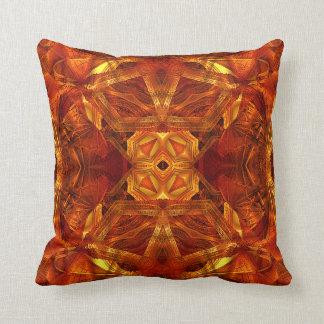 ドームの曼荼羅の(赤い)枕 クッション