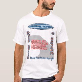 ドールの点検及びハバナ-匿名デザイナーラベル Tシャツ