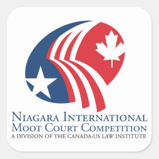 ナイアガラの国際的な模擬裁判の競争 スクエアシール