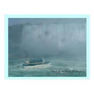 ナイアガラの霧の女中 ポストカード