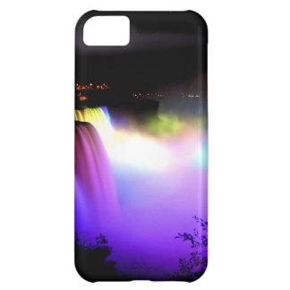 ナイアガラ滝の下フラッドライト夜 iPhone5Cケース