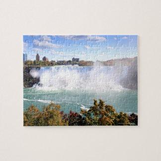 ナイアガラ・フォールズのアメリカの滝 ジグソーパズル
