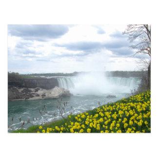 ナイアガラ・フォールズのカナダ人の側面 ポストカード