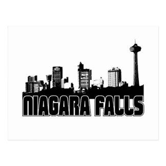 ナイアガラ・フォールズのスカイライン ポストカード