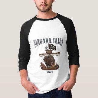 ナイアガラ・フォールズの公表の発育阻害のワイシャツ Tシャツ