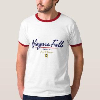 ナイアガラ・フォールズの原稿 Tシャツ