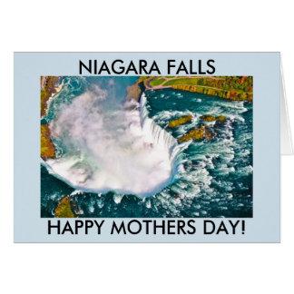 ナイアガラ・フォールズの母の日カード カード
