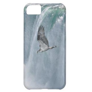 ナイアガラ・フォールズの滝及びミサゴの芸術のiPhone 5の場合 iPhone5Cケース