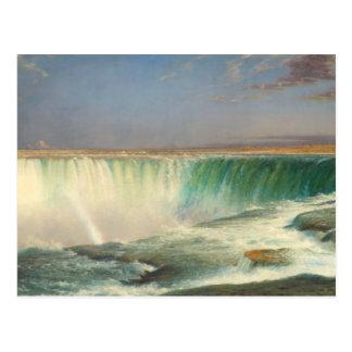 ナイアガラ・フォールズの絵画の郵便はがき ポストカード