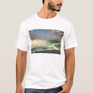 ナイアガラ・フォールズの絵画のTシャツ Tシャツ