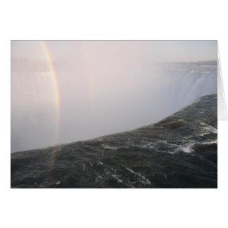 ナイアガラ・フォールズの虹カード カード