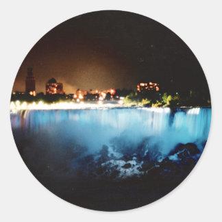 ナイアガラ・フォールズは米国の側面から見ました ラウンドシール