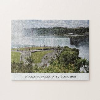 ナイアガラ・フォールズニューヨーク米国の写真パズル ジグソーパズル