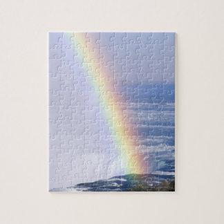 ナイアガラ・フォールズ、ニューヨーク上の虹 ジグソーパズル