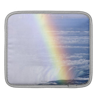 ナイアガラ・フォールズ、ニューヨーク上の虹 iPadスリーブ