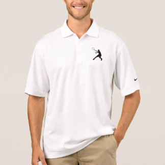 ナイキDriのカスタムなロゴの適当なテニスのポロシャツ ポロシャツ