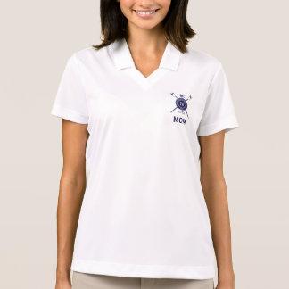 ナイキDriFitの女性のポロ ポロシャツ