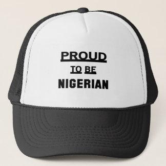 ナイジェリアがあること誇りを持った キャップ
