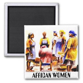 ナイジェリアのアフリカの女性 マグネット