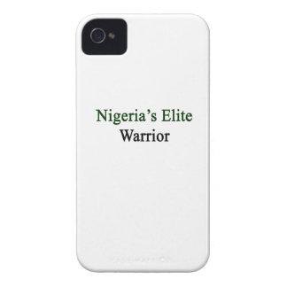 ナイジェリアのエリートの戦士 Case-Mate iPhone 4 ケース