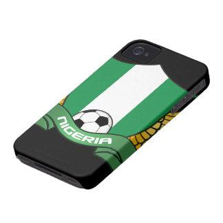 ナイジェリアのサッカーのiPhone 4/4Sの穹窖やっとそこに Case-Mate iPhone 4 ケース