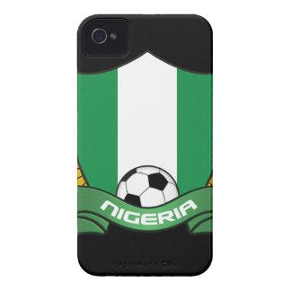 ナイジェリアのサッカーのiPhone 4 IDの穹窖 Case-Mate iPhone 4 ケース