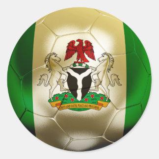 ナイジェリアのフットボール ラウンドシール