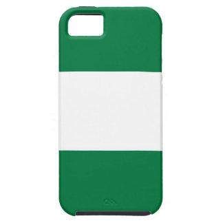 ナイジェリアの国旗の箱の白い緑 iPhone SE/5/5s ケース