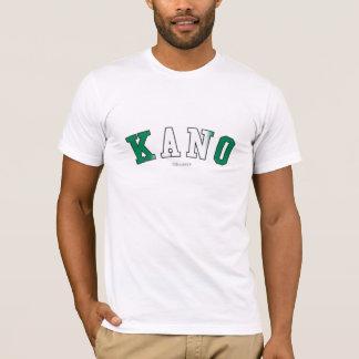 ナイジェリアの国旗色のカノ Tシャツ