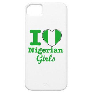 ナイジェリアの女の子のデザイン iPhone SE/5/5s ケース