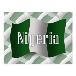 ナイジェリアの振る旗 ポストカード