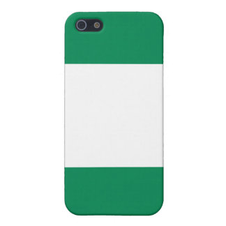 ナイジェリアの旗のiphone 4ケース iPhone 5 cover