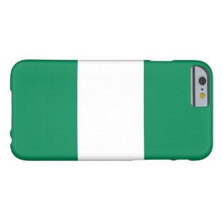 ナイジェリアの旗 BARELY THERE iPhone 6 ケース