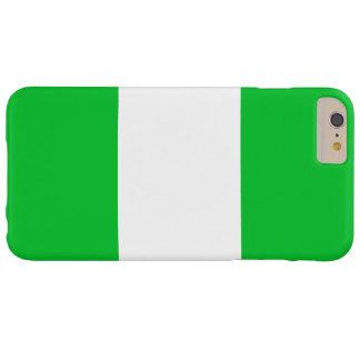 ナイジェリアの旗 BARELY THERE iPhone 6 PLUS ケース