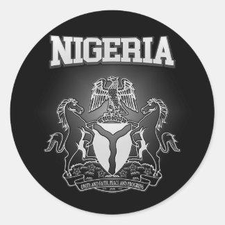 ナイジェリアの紋章付き外衣 ラウンドシール