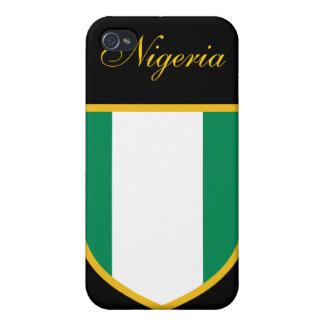 ナイジェリアの美しい旗 iPhone 4 COVER