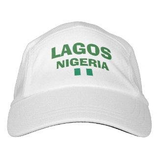 ナイジェリアラゴスの性能の帽子 ヘッドスウェットハット