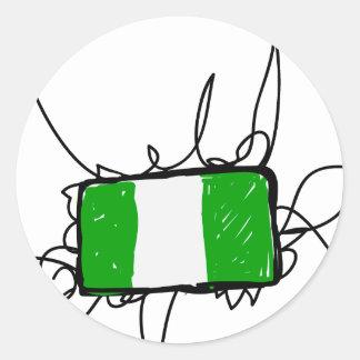 ナイジェリア ラウンドシール